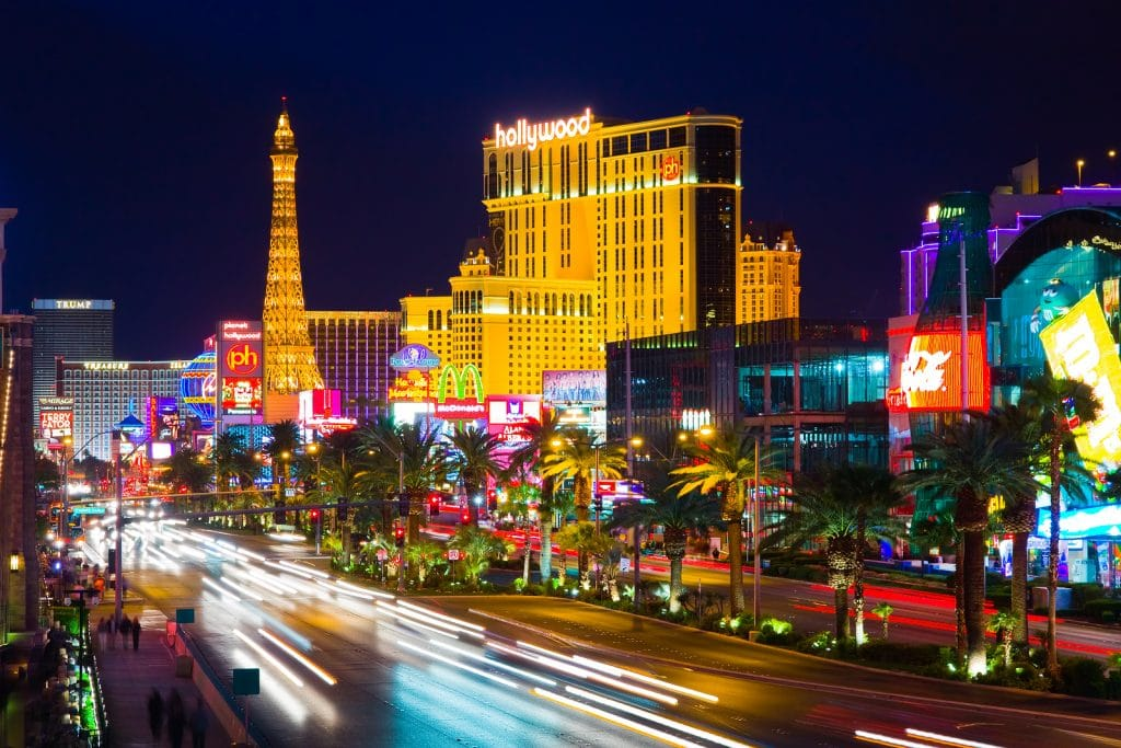 Las Vegas At Night presented by Booking Express Travel