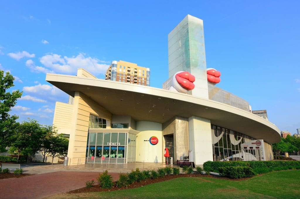 The World of Coca-Cola is a museum dedicated to the history of Coca-Cola,
