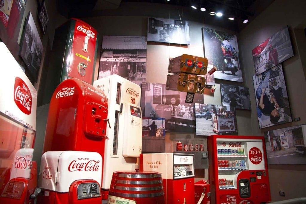 World of Coca Cola museum